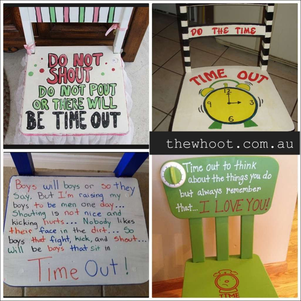It S A Long Debate Whether Pas Should Make Their Kids Sit On Time Out Chairs Or Not But If Works For Your And Don T Them Even More