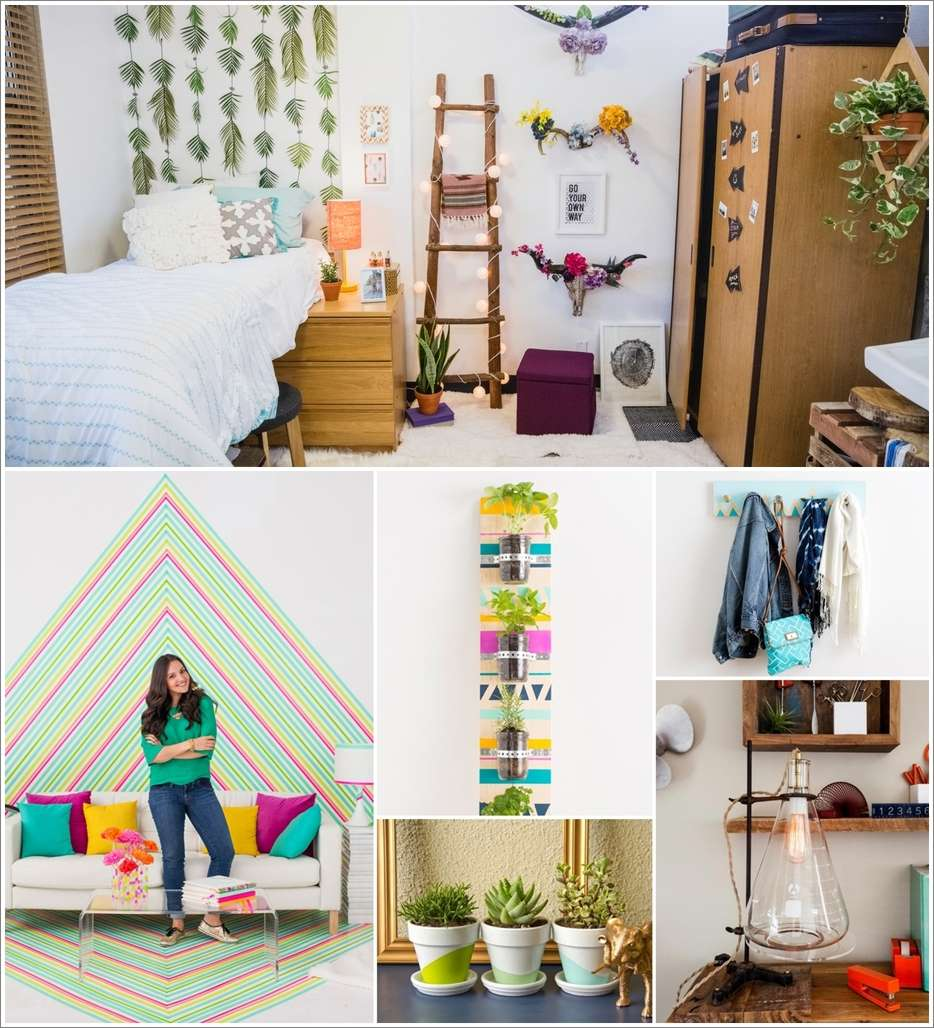 46 budget friendly ideas to decorate your dorm room