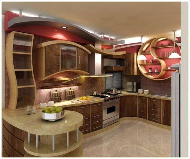 7 interesting and extraordinary kitchen designs for Amazing kitchen designs