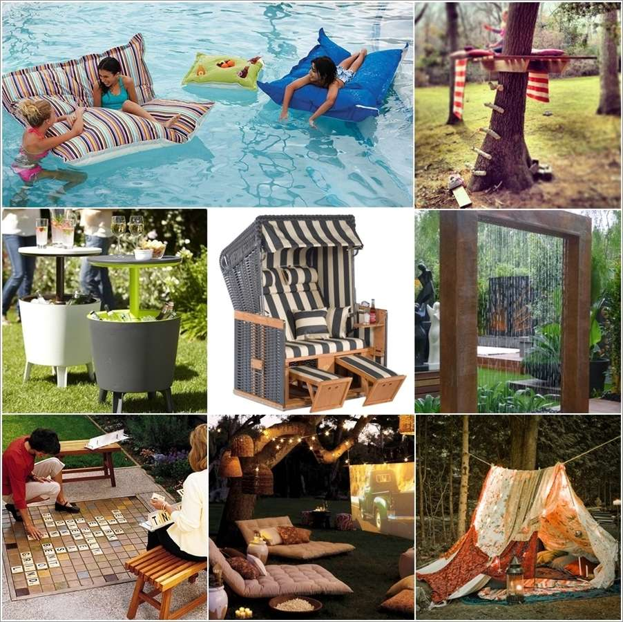 22 fun things and projects to make your backyard lively