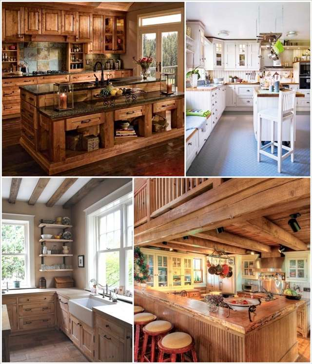 35 rustic and country kitchen design ideas