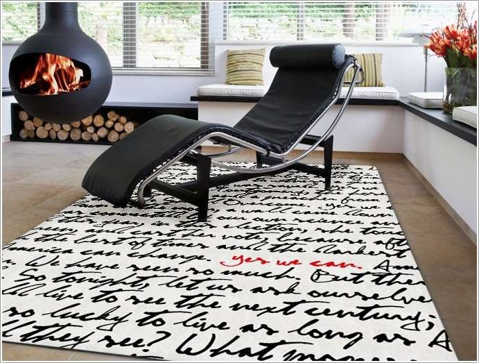 cool living room rugs. 2 13 Awesome and Cool Living Room Rug Designs