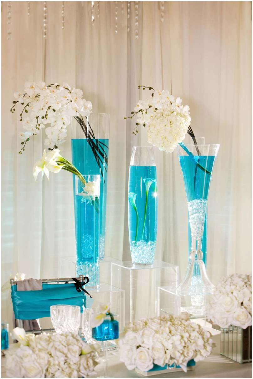 stunning wedding decor ideas with tall vases