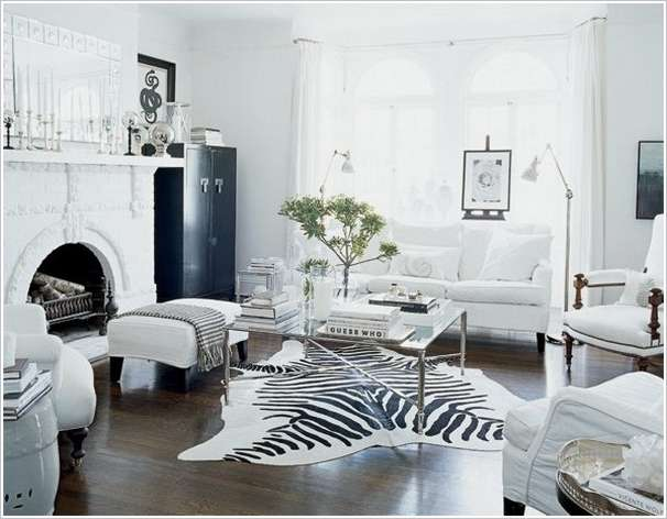 8 Modern Black And White Living Room Designs