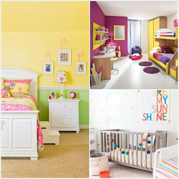 Bright Kids Room: 8 Bright And Cheerful Kids Room Decor Ideas