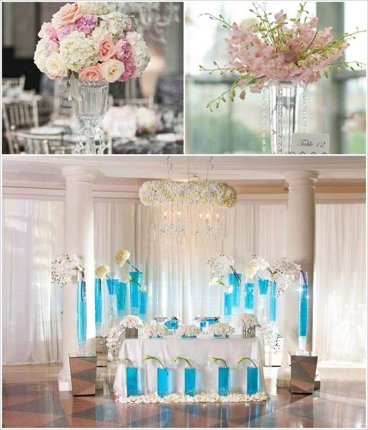 7 stunning wedding decor ideas with tall vases junglespirit Images