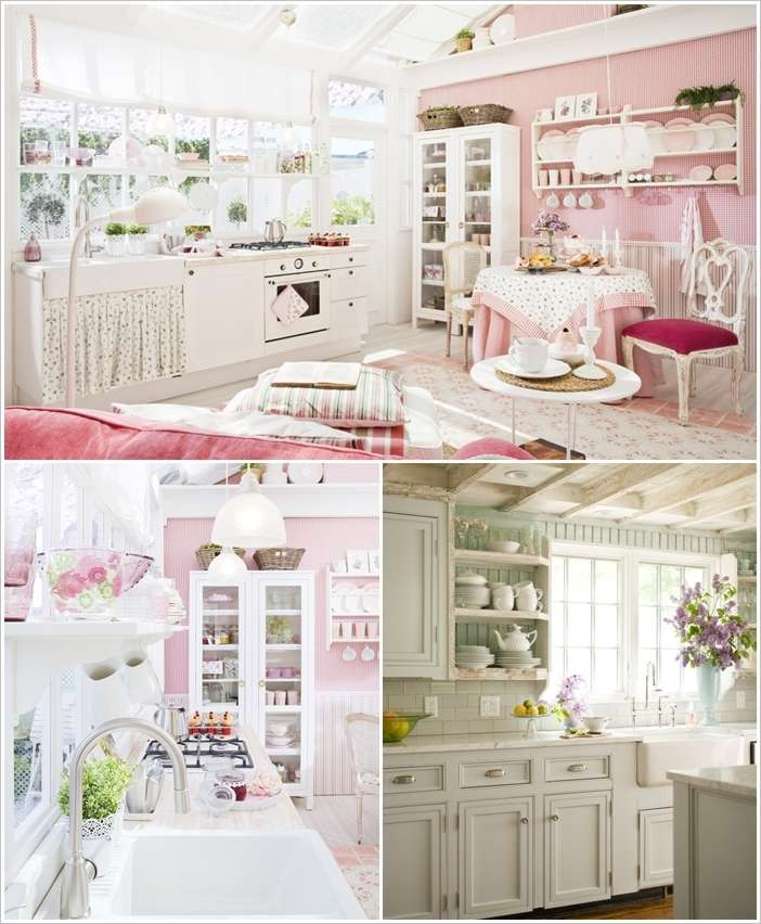 Whenever You See Interior Decor With A Shabby Chic Feel Does It Become Part Of Your Memory If Yes Then How About Giving Kitchen