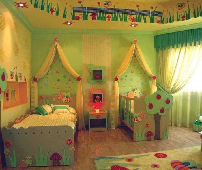 7 cute baby and toddler shared room designs - Cute toddler girl room ideas ...