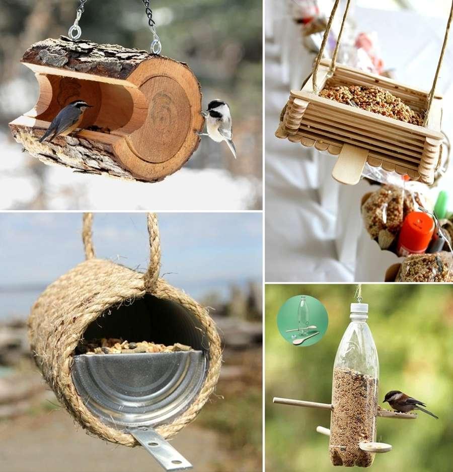 23 diy bird feeder ideas for your garden - Bird feeder garden designs ...