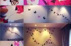 Awesome Butterfly Heart Wall Art Idea