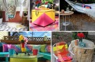 29 Ingenious and Cool Backyard Furniture DIYs