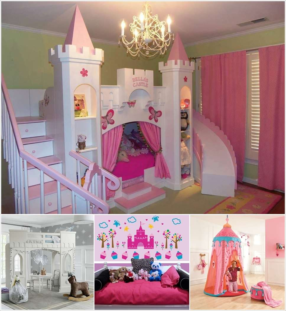 8 Cute Castles for Your Princess\'s Bedroom