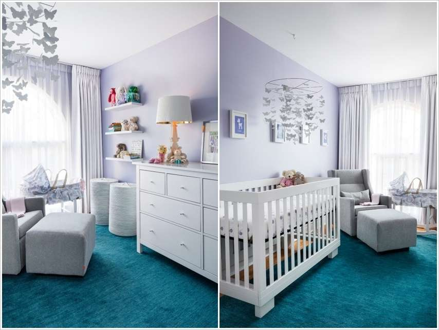 Couleur Peinture Recyclee Rona : Amazing Interior Design 15 Small Baby Nursery Designs That Are Worth