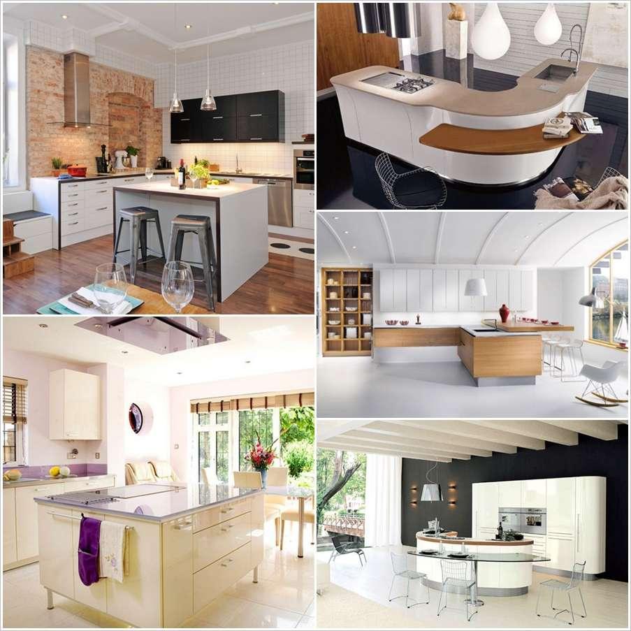 30 Modern Kitchen Design Ideas: 30 Modern Kitchen Island Designs For A Classy Decor