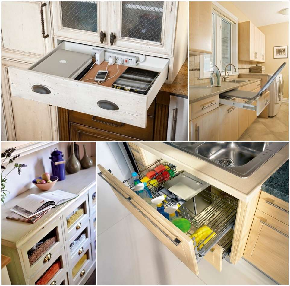 14 Clever Ideas to Organize Your Home with Drawers