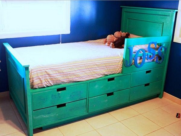 Amazing Interior Design 10 Smart DIY Storage Bed Design Ideas