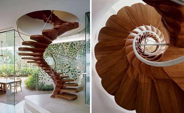 Flower Petal Stairs