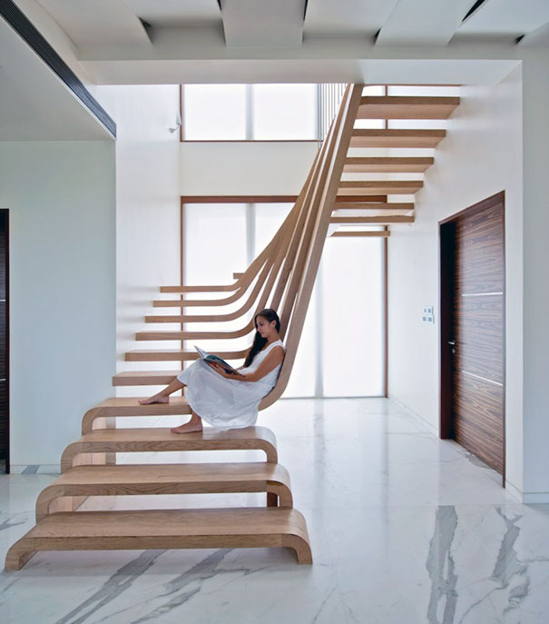 Designing Stairs : 10 Insanely Creative Staircase Designs