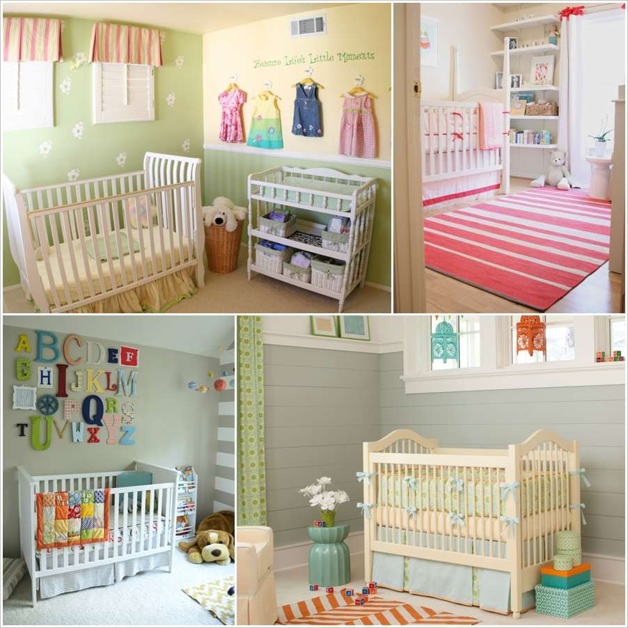15 small baby nursery designs that are worth stealing - Baby room ideas small spaces property ...