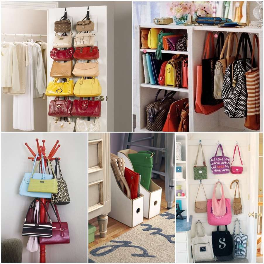 Either you have a few or many handbags their storage is very important for easy access at the time of need and their long life. & 17 Clever Handbag Storage Ideas and Solutions
