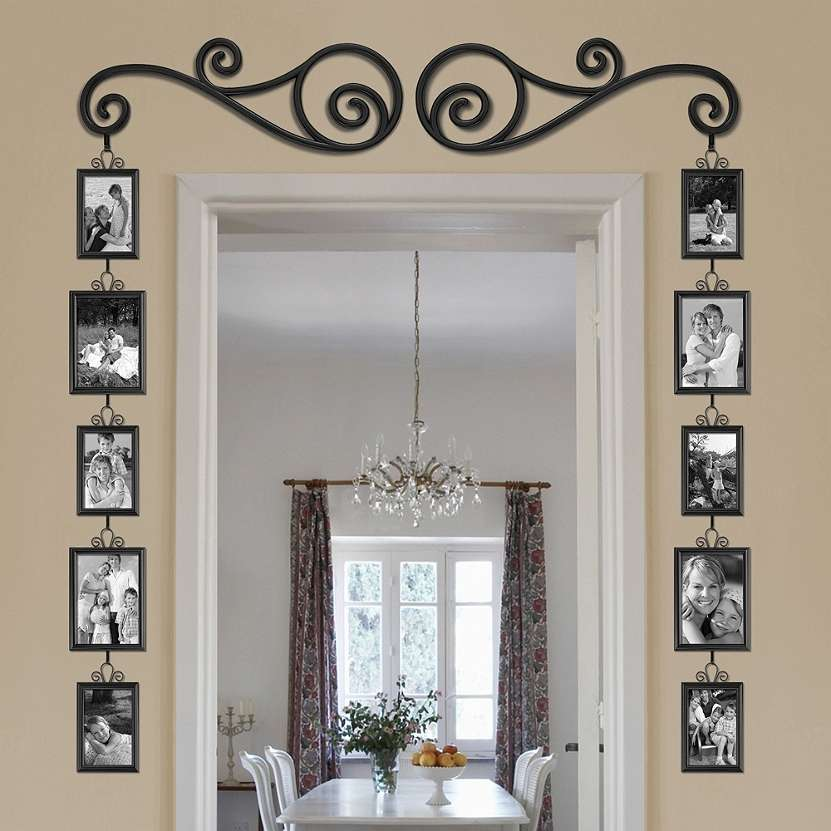 40 adorable and beautiful family art ideas for Above door decoration