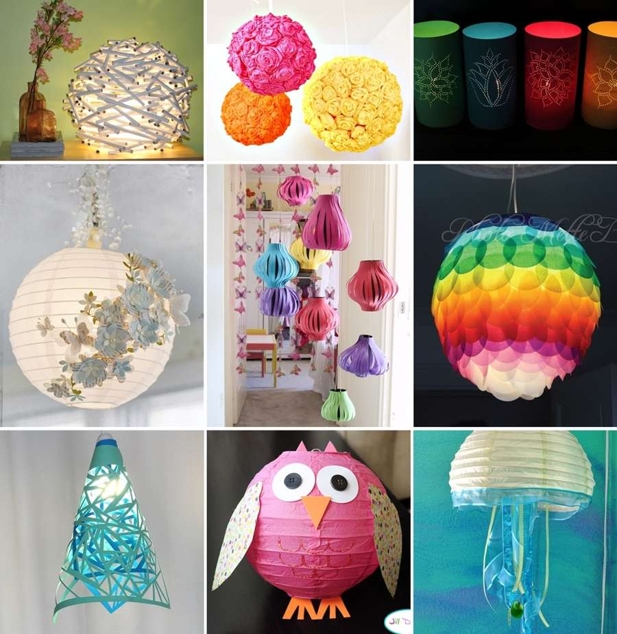 chinese lantern craft ideas 20 amazing diy paper lanterns and lamps 3544