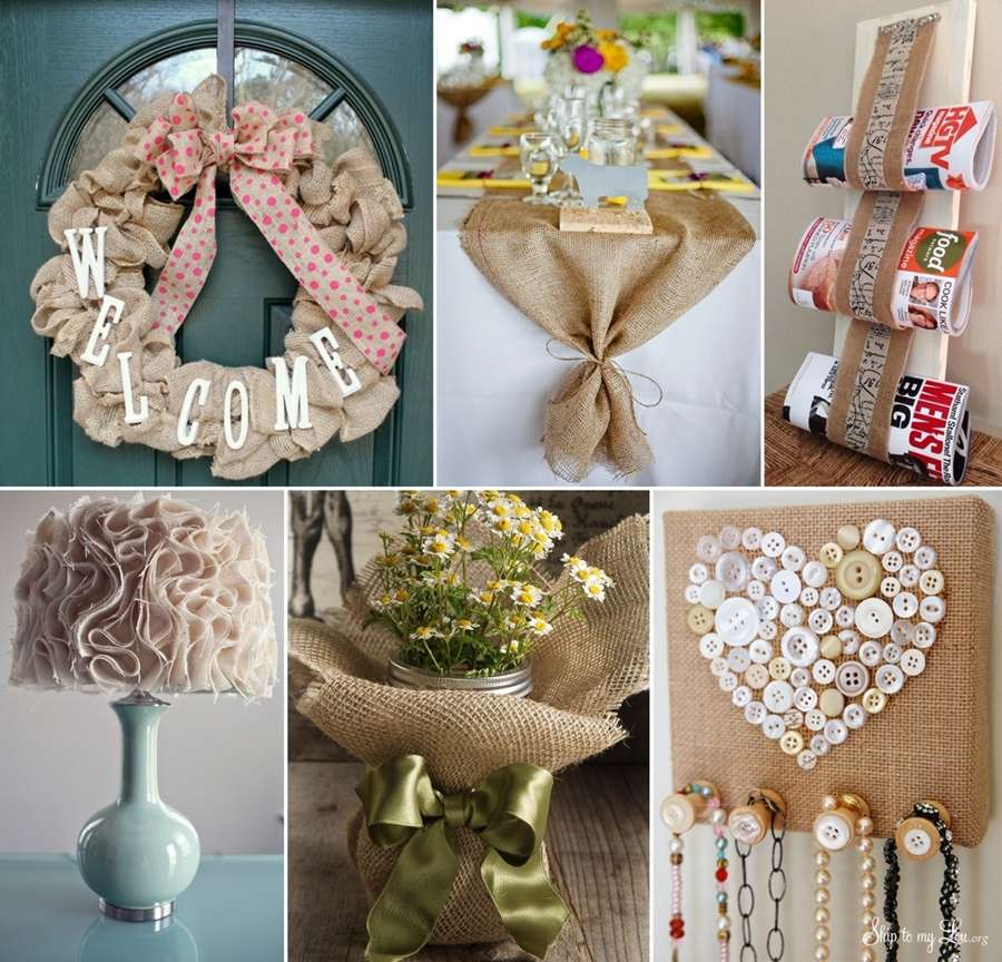 15 Fabulous DIY Burlap Decor Ideas That You'll Love to Try