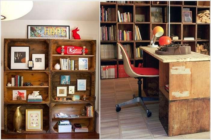 Original Nickety Nackety Noo Milk Crate Bookshelves