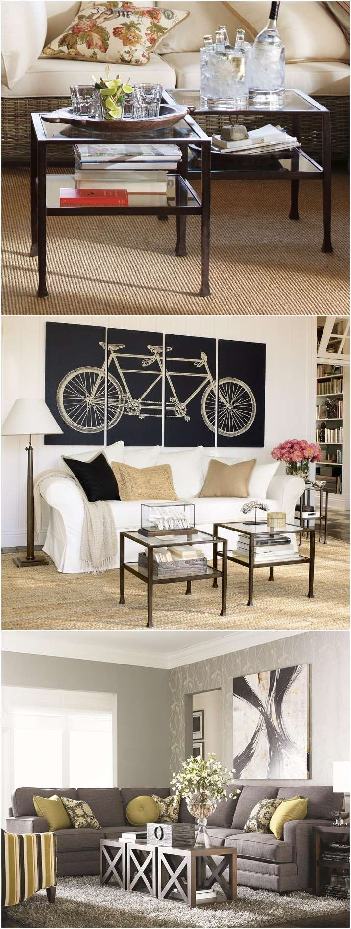 13 Creative Coffee Table Alternatives For Your Living Room