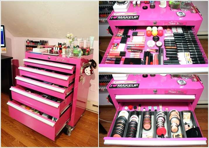 12 Cool Ideas To Store And Organize Your Makeup