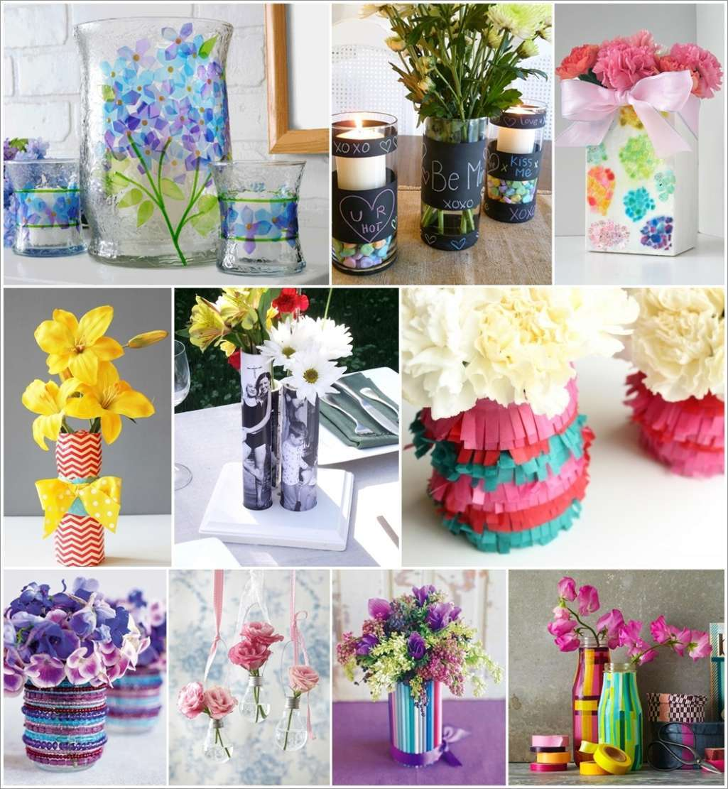 35 creative diy flower vase ideas for your home reviewsmspy