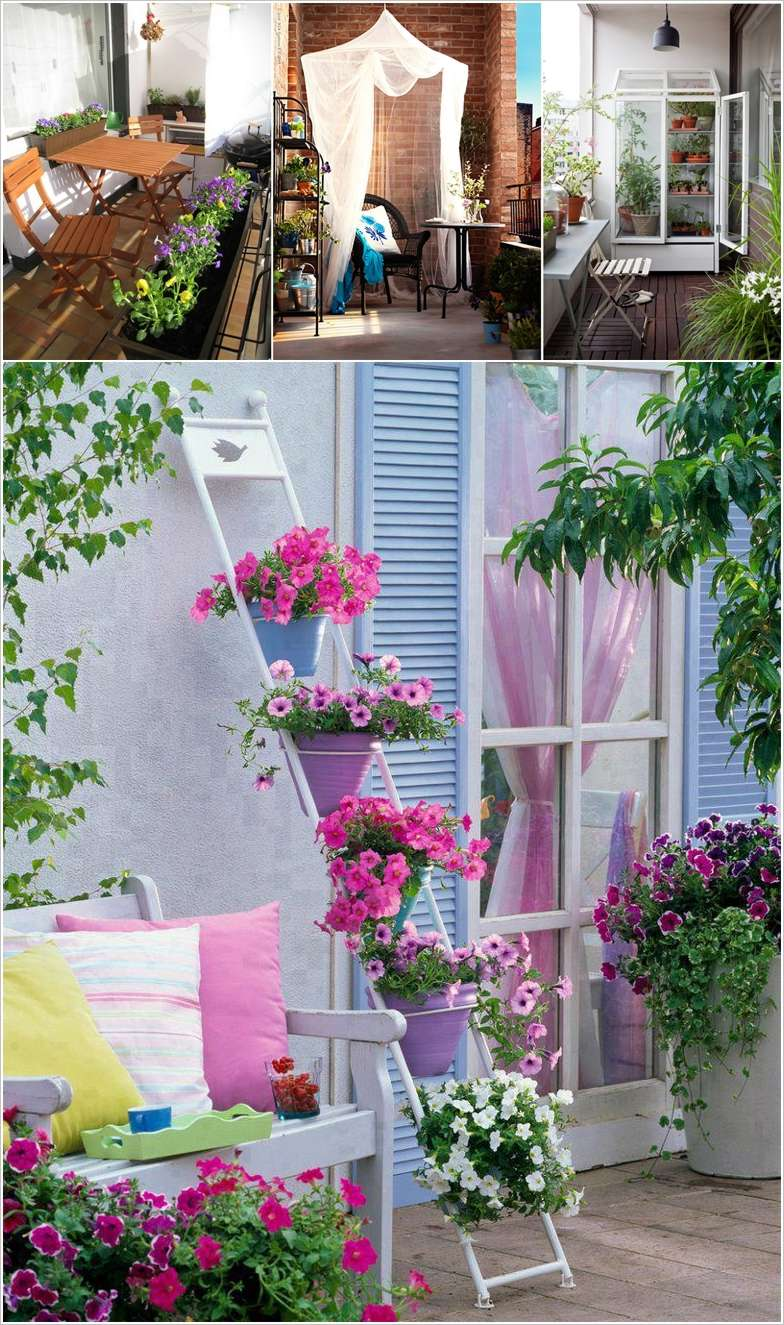25 Minimalist Garden Ideas To Spice Up Your Balcony