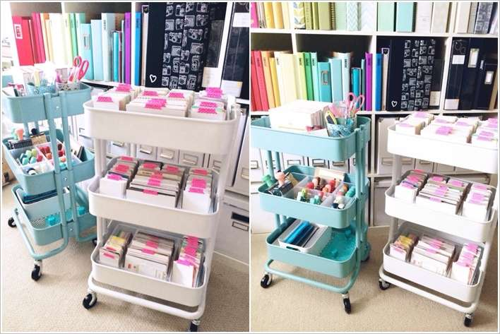 15 clever ikea rolling cart hacks that are simply awesome