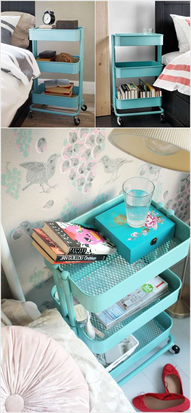 Ikea Teal Cart. Ikea Raskog Cart Kids Art Cart. Diy Ikea Bar Cart ...