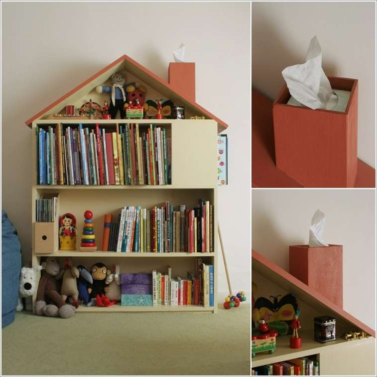 10 cool and creative kids 39 book storage ideas for Cute bookshelf ideas