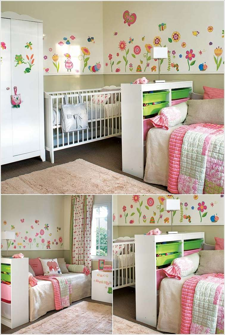 10 shared kids bedroom storage and organization ideas