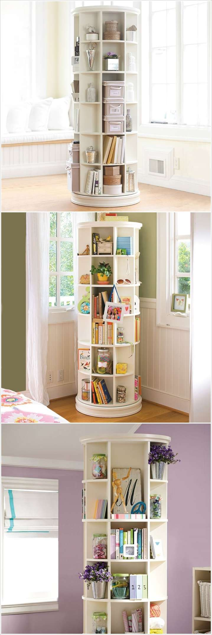 10 clever solutions for small space teen bedrooms Bookshelves in bedroom ideas