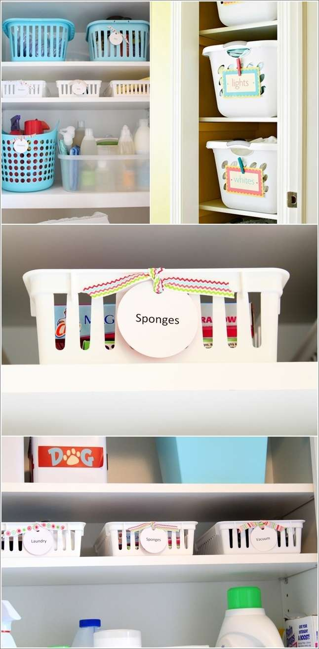 15 Awesome Laundry Room Storage and Organization Hacks