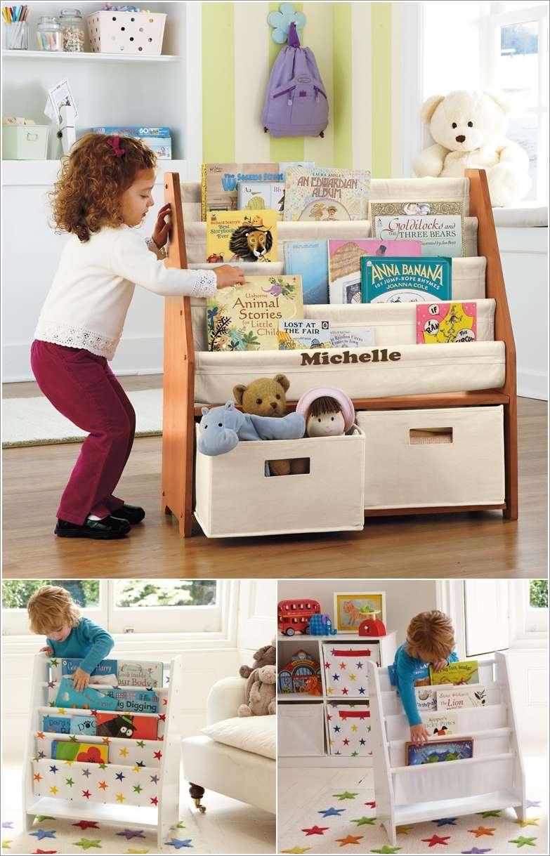 10 Cool And Creative Kids Book Storage Ideas Fun Corner