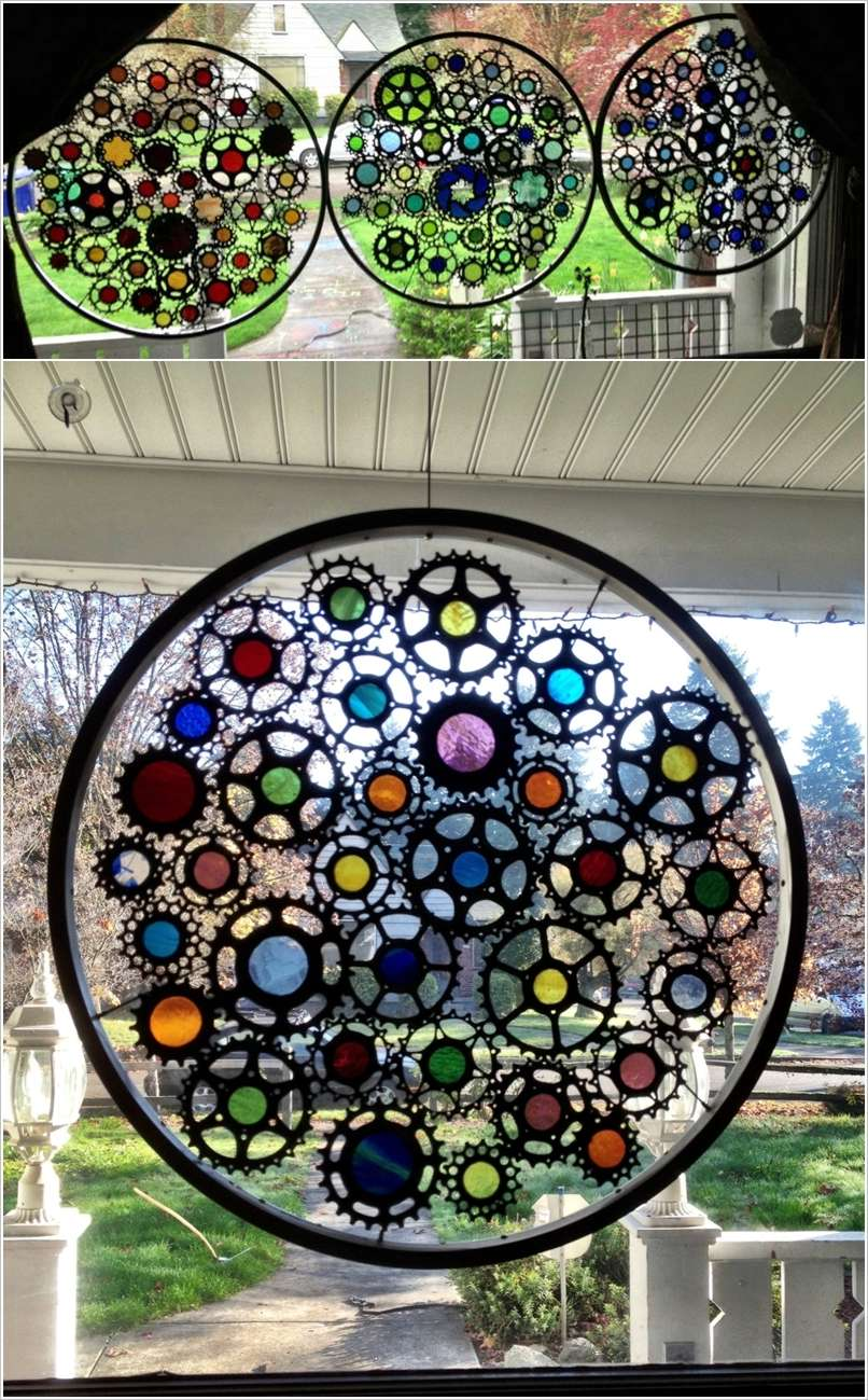 10 Fabulous Ideas to Use Bike Wheels for Garden Decor