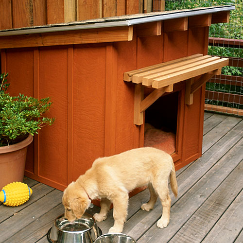 Mini Ranch Dog House