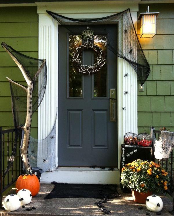 Spider Halloween Front Door