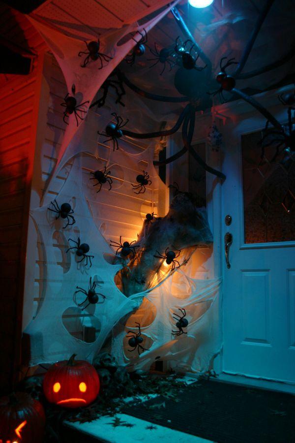 Spooky Halloween Front Door