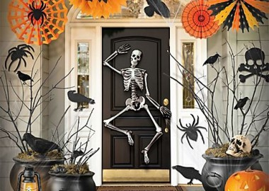 Spooky  Halloween Porch