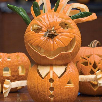 Stacked Pumpkin