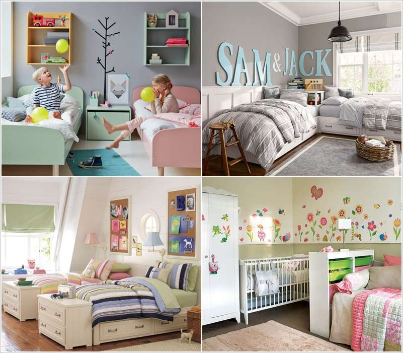 10 shared kids bedroom storage and organization ideas - Kids room storage ideas for small room ...