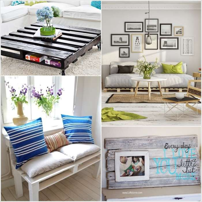 10 Phenomenal Pallet Projects for Your Living Room on Pallet Room Ideas  id=32531