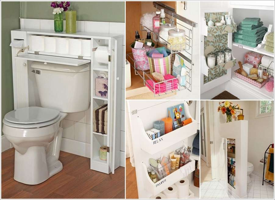 Smart Bathroom 10 smart ideas to store more in your bathroom