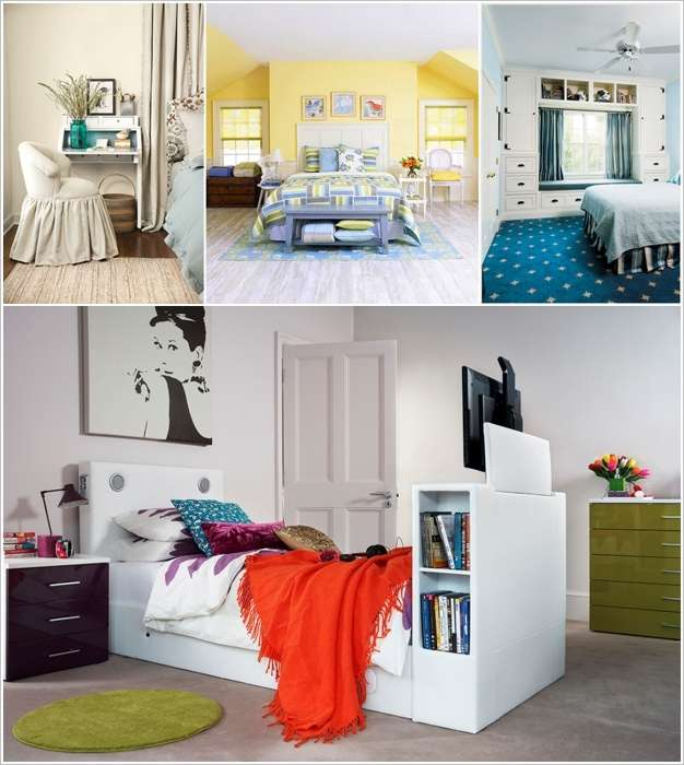 & 10 Clever Ideas to Add Storage to Your Bedroom