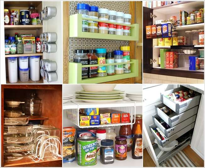 Are Your Kitchen Cabinets Cluttered And You Can T Find A Way To Tame The Clutter If Yes Then Take Look At These Clever Solutions That Will Make Life